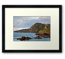 Chapel on a hill Framed Print