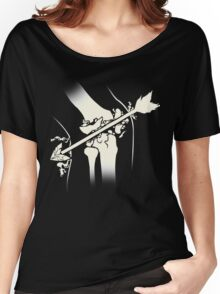 Arrow Into The Knee Women's Relaxed Fit T-Shirt