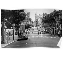 San Francisco Street Life Poster