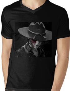 Dad? - The Walking Dead Mens V-Neck T-Shirt