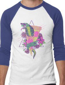 Snake Pizza Men's Baseball ¾ T-Shirt