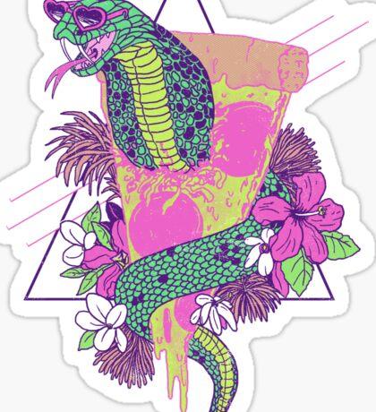 Snake Pizza Sticker