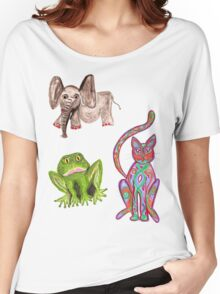 animal set Women's Relaxed Fit T-Shirt