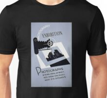 WPA Photographs Exhibit Vintage Poster Unisex T-Shirt