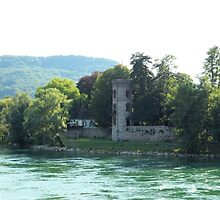 Switzerland Landscape - Mountains, Water, and Architecture by Barberelli