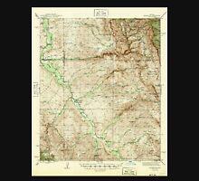 USGS TOPO Map Arizona AZ Redington 314960 1945 62500 Unisex T-Shirt