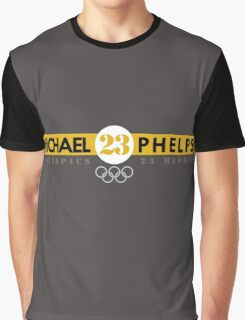 Michael Phelps 23 Go Graphic T-Shirt