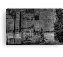 Urban Wall Canvas Print