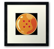 5 Stars Framed Print