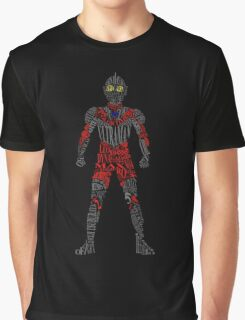 Ultraman of Many Words Graphic T-Shirt