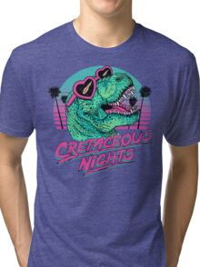 Cretaceous Nights Tri-blend T-Shirt