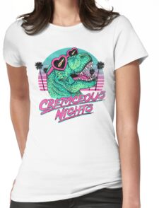 Cretaceous Nights Womens Fitted T-Shirt