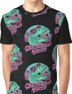 Cretaceous Nights Graphic T-Shirt