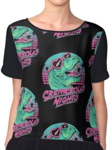 Cretaceous Nights Chiffon Top