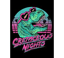 Cretaceous Nights Photographic Print