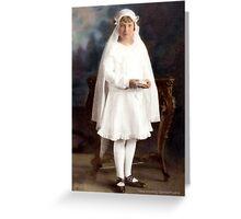 Communion Greeting Card Greeting Card