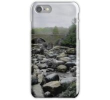 Down to the Waterline in Wales iPhone Case/Skin