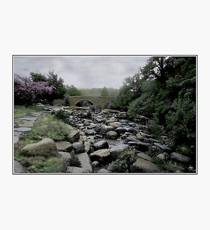 Down to the Waterline in Wales Photographic Print