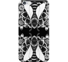 The Awakened Soul Oracle - Card Back Design - Sacred Bee iPhone Case/Skin