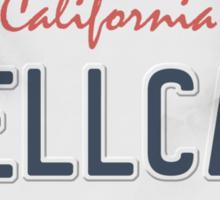License Plate - HELLCAT Sticker