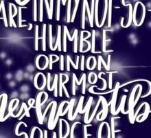 Harry Potter Quote - Dumbledore Sticker