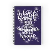 Harry Potter Quote - Dumbledore Spiral Notebook