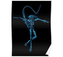 Dancing Alien Poster
