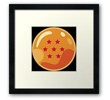 7 Stars Framed Print