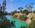 Little Blue Lake, Tasmania, Australia by Margaret  Hyde