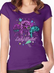 Lady Mullet Women's Fitted Scoop T-Shirt