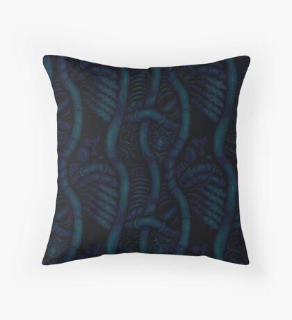 Living Tissue Pattern Throw Pillow