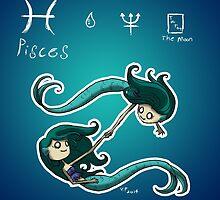Astrology - Pisces by OddworldArt