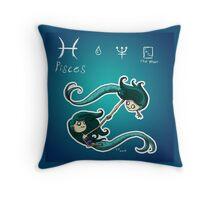 Astrology - Pisces Throw Pillow