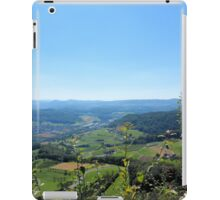 Switzerland Landscape - Mountains, Trees, Valley iPad Case/Skin