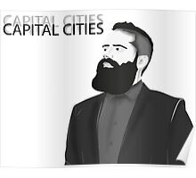 Capital Cities Poster