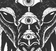 5 Eyes of Satan Sticker