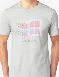 Vaporwave windows Unisex T-Shirt