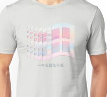 Vaporwave windows Unisex T-Shirt