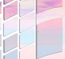 Vaporwave windows Sticker