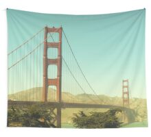 Golden Gate Bridge Wall Tapestry