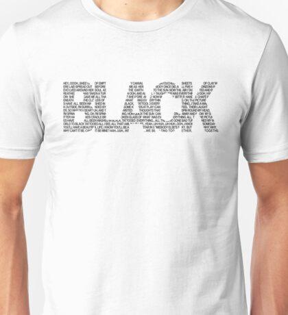B L A C K Unisex T-Shirt