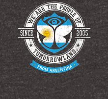 People of Tomorrowland country Flags logo Badge - Argentina - Argentinian - argentino Unisex T-Shirt