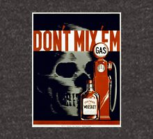 """Don't Mix Em"" Anti Drinking & Driving Vintage Poster by WPA Unisex T-Shirt"