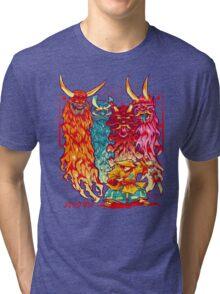 PAKKU-MAN Tri-blend T-Shirt