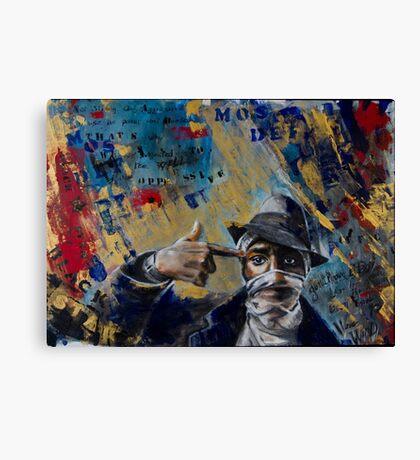Mos Def Tribute Canvas Print