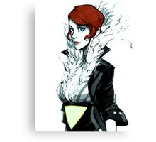 Transistor 'Red' print Canvas Print
