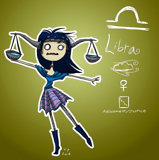 Astrology - Libra by OddworldArt