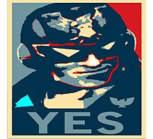 ~ Captain Falcon: YES ~ Photographic Print