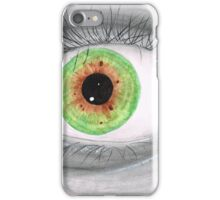 Semi Realistic Eye iPhone Case/Skin