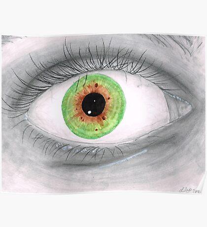 Semi Realistic Eye Poster